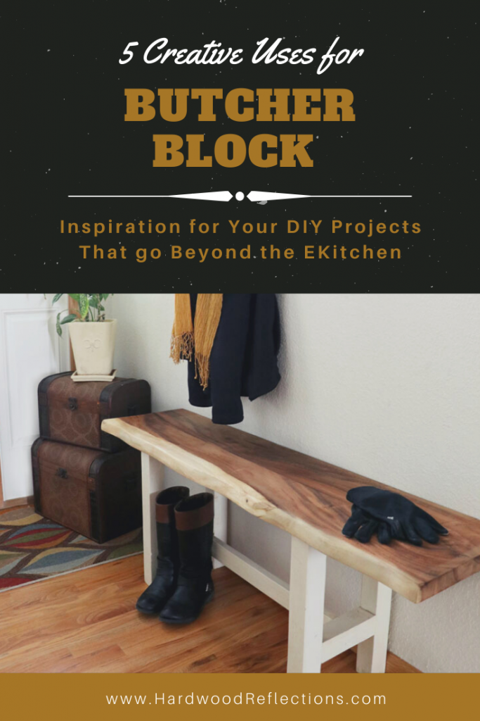 Creative Uses for Butcher Block from hardwood reflections