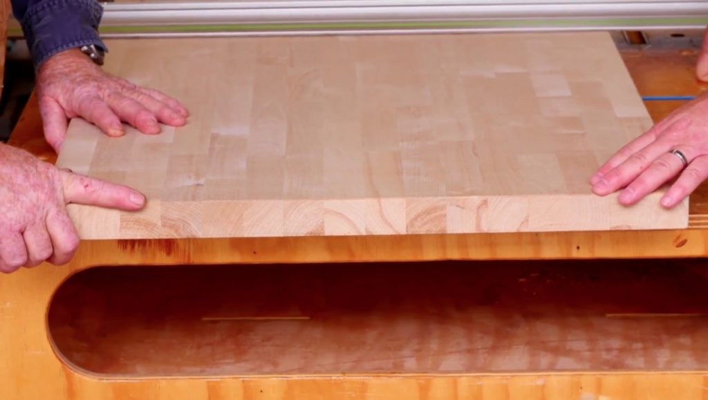 How to join Hardwood Reflections Butcher Block together.