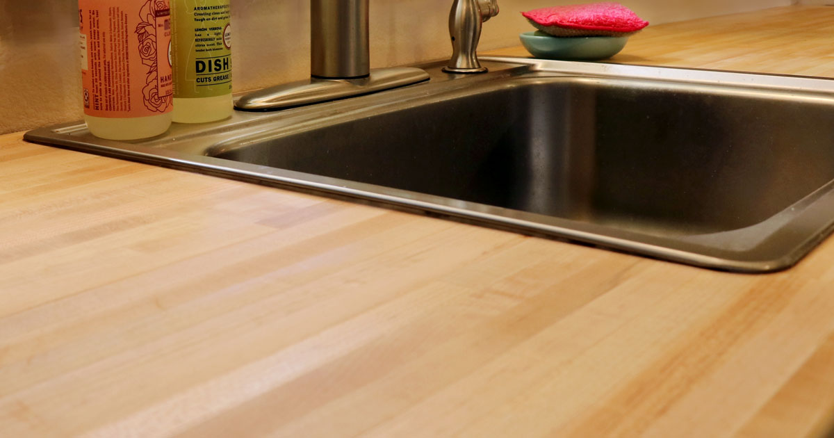 Hardwood Reflections Butcher Block How to Install A Sink