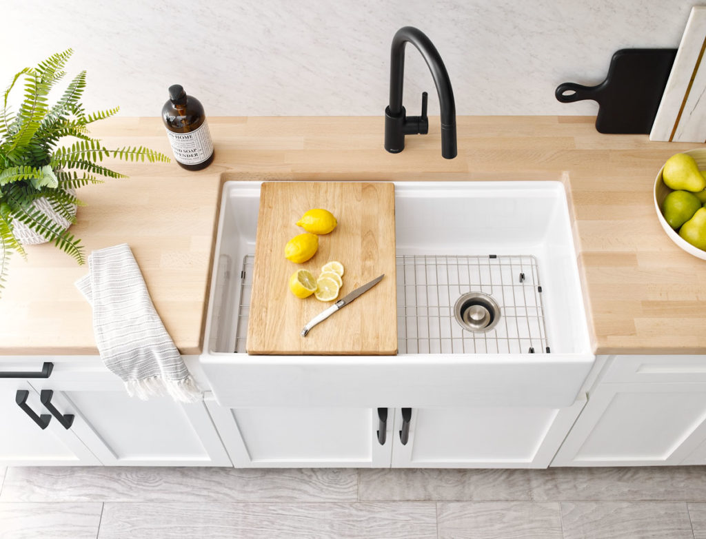Best Sinks for Butcher Block - Sinkology and Hardwood Reflections