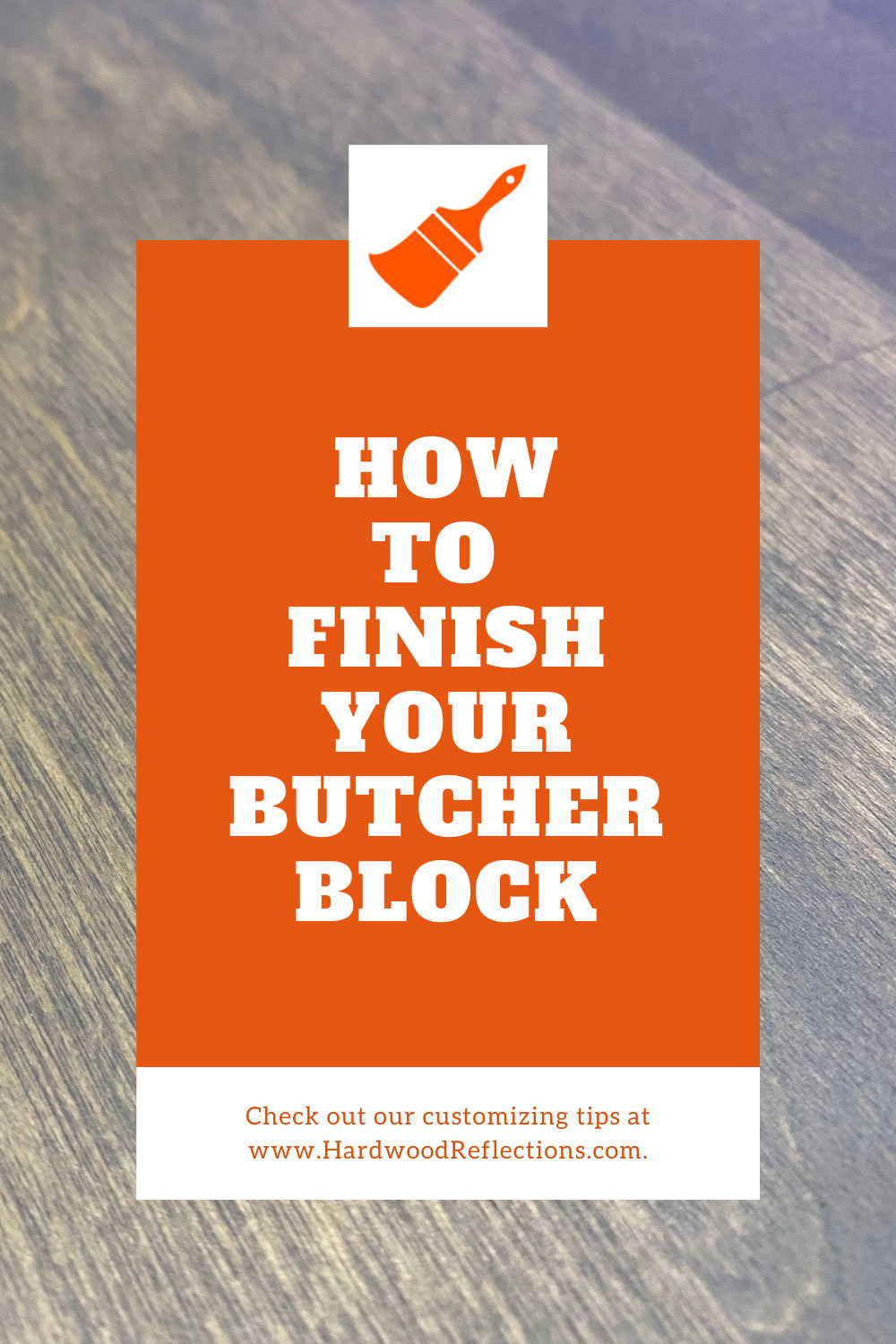 How to Finish your Butcher Block